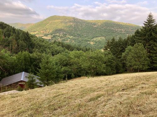 la cabane dans la vallée